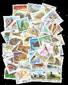 Nye russiske stater - 46 frimærker