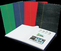 Indstiksbog - assorterede farver - A4 - 32 hvide sider - Leuchtturm