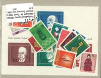 Vesttyskland - 1968 postfrisk med miniark