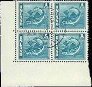 Island 1939.Fisk 1 EYR 1 4 blok