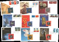 Totaal aanbod: 9 muntbrieven