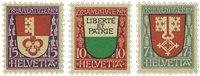 Schweiz 1919 - Michel 149/51 - Ubrugt