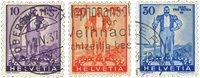 Schweiz 1936 - Michel 294/96 - Stemplet