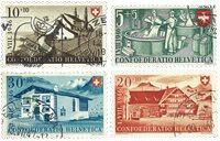 Schweiz 1946 - Michel 471/74 - Stemplet