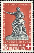 Schweiz - Michel 368 - Postfrisk