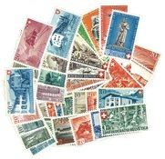 Schweiz - Pro Patria sæt 1936-1949 Postfrisk, Komplet