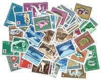 Schweiz - Pro Patria sæt 1950-1961 Postfrisk, Komplet