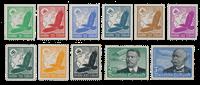 Imperio Allemán - 1934 - Michel 529/539, con charnela