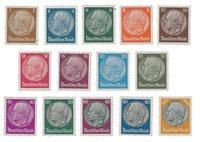 Tyske Rige 1933 -  Michel 482-495 / AFA 477-490 - Ubrugt