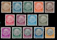 Imperio Allemán - 1933 - Michel 482/495, con charnela