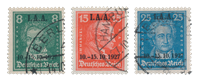 Empire Allemand - 1927 - Michel 407/409, oblitéré