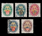Empire Allemand - 1928 - Michel 425/429, oblitéré