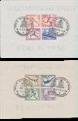 Imperio Allemán - 1936 - Michel Block 5/6, usado