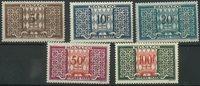 Monaco - Taxe 1946-57, neuf