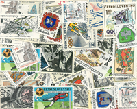 Tsekkoslovakia - Erä kaksoiskappaleita
