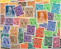Saksa - Erä postituoreita kaksoiskappaleita