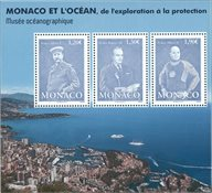 Monaco - Monaco et l'océan - Bloc-feuillet neuf