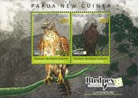Papua Ny Guinea - Birdpex Erythrothiorh - Postfrisk miniark