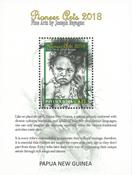 Papouasie Nlle Guinée - Art 2018/Joseph Bayaga - Bloc-feuillet neuf