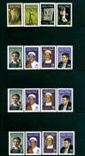 Yémen - 4 timbres neufs