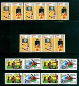 Turquie - 9 timbres neufs