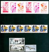 Sverige - 9 postfriske frimærker