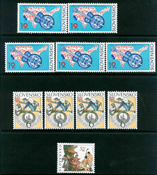 Slovaquie - 13 timbres neufs