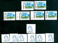 Holland - 14 postfriske frimærker