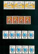Monaco - 16 timbres neufs