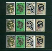 Malaysia - 11 postfriske frimærker