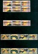 Laos - 5 timbres neufs
