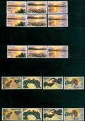 Laos - 5 postfriske frimærker