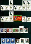 Irland - 19 postfriske frimærker