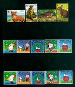 Gibraltar - 3 postfriske frimærker