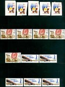 Canada - 17 timbres neufs