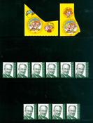 Belgia - 12 postituoretta postimerkkiä