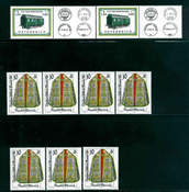 Itävalta - 9 postituoretta postimerkkiä
