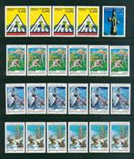 Andorra - 23 postituoretta postimerkkiä