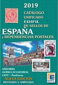 Edifil katalog - Spanien og kolonier 2019