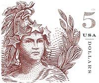 Etats-Unis - Statue of Freedom 5$ sa * - Timbre neuf