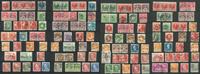 Færø-stempler på danske frimærker - Ringbind med 46 plancher A5