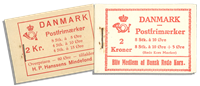 Danmark - Dybbøl hæfte og Røde Kors hæfte
