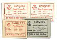Danmark - Dybbøl hæfte og Røde Kors