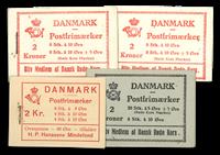 Danemark - Carnet Dybbøl et Croix Rouge