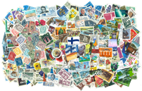Finland - 500 different stamps