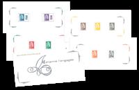 Frankrig - Marianne nye dagligmærker - Flot folder