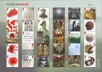 Grande-Bretagne - Première Guerre Mondiale, 1918 - Feuillet neuf