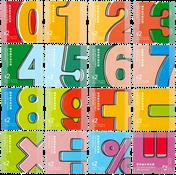 Hong Kong - Tal & Symboler - Postfrisk sæt 16v