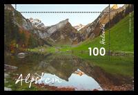 Schweiz - Alpstein - Postfrisk miniark