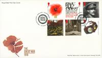 Grande-Bretagne - Première Guerre Mondiale 1918 - Env.premier jour